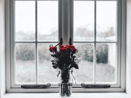 parujące okna