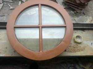 Okno owal