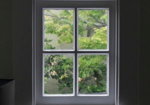okna antracytowe